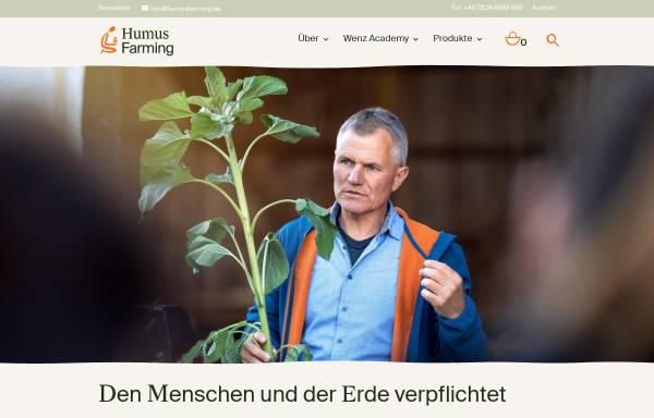 Vorschau von humusfarming.de, Eco-Dyn, Friedrich Wenz