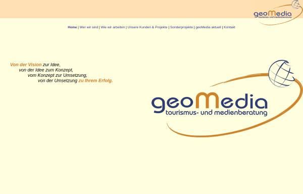 Vorschau von www.akgeomedia.de, AKGeomedia - Tourismus- und Medienberatung