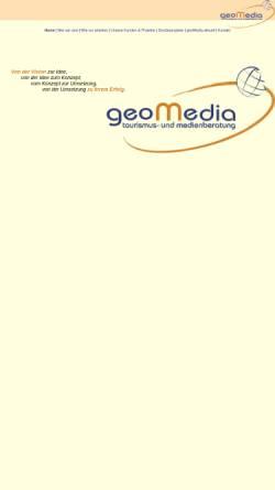 Vorschau der mobilen Webseite www.akgeomedia.de, AKGeomedia - Tourismus- und Medienberatung
