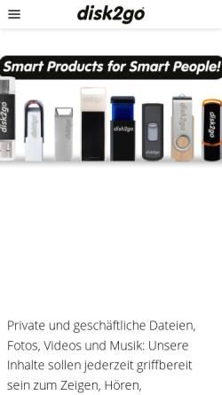 Vorschau der mobilen Webseite www.storagenews.ch, Storagenews.ch