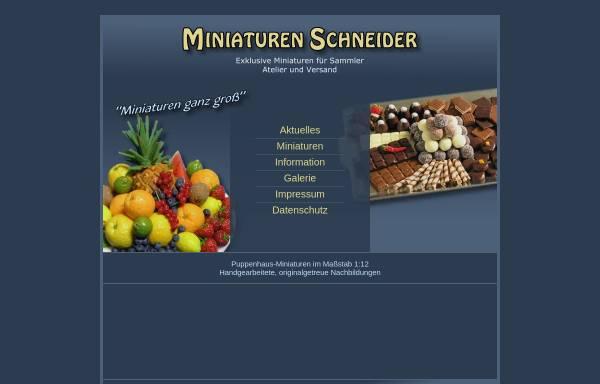 Vorschau von www.miniaturen-schneider.de, Das Puppenhaus