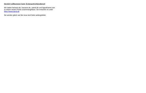 Vorschau von www.facharzt.de, Nachrichtendienst für Fachärzte [facharzt.de]