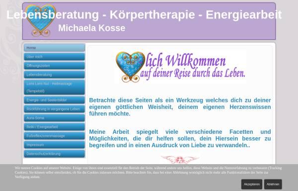 Vorschau von www.herzensenergie.de, Michaela Kosse