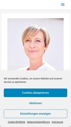 Vorschau der mobilen Webseite www.bleibjung.de, Anti-Aging Portal