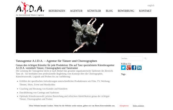 vorschau von wwwaida dancede aida - Aida Bewerbung