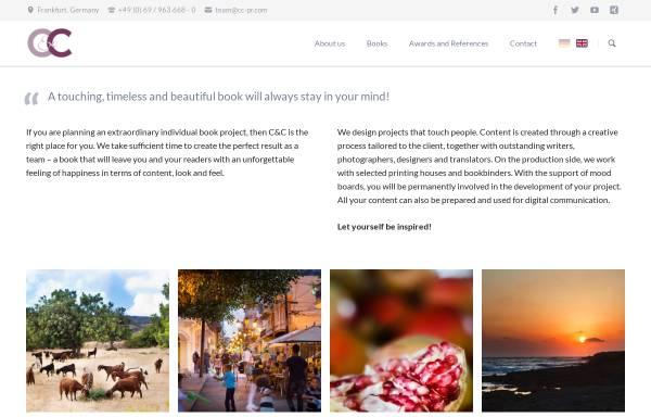 Vorschau von www.cc-pr.com, C&C Contact & Creation GmbH