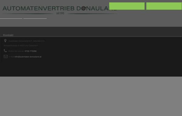Vorschau von www.automaten-donauland.at, Automaten Donauland K.F.Jeitschko KG