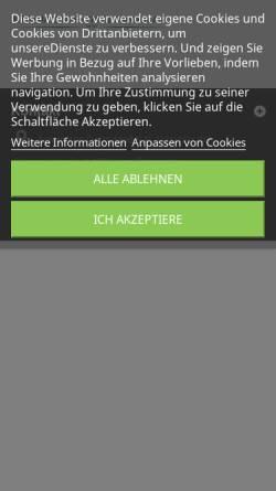 Vorschau der mobilen Webseite www.automaten-donauland.at, Automaten Donauland K.F.Jeitschko KG
