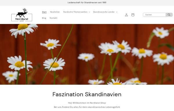 Vorschau von www.nordland-shop.com, Nordland-Shop, Angelika Haardiek