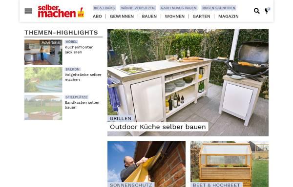 Vorschau von selbermachen.de, DIY selbermachen