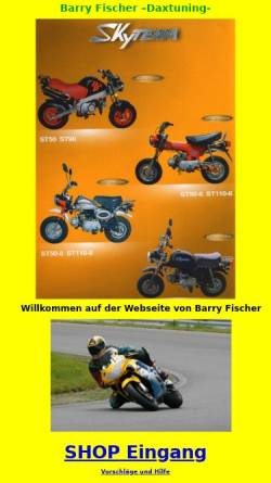Vorschau der mobilen Webseite www.honda-dax.de, Honda Dax Tuning Berlin