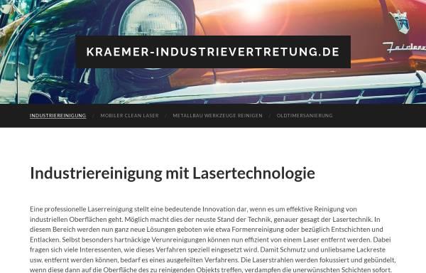 Vorschau von www.kraemer-industrievertretung.de, Walter Krämer Industrievertretung