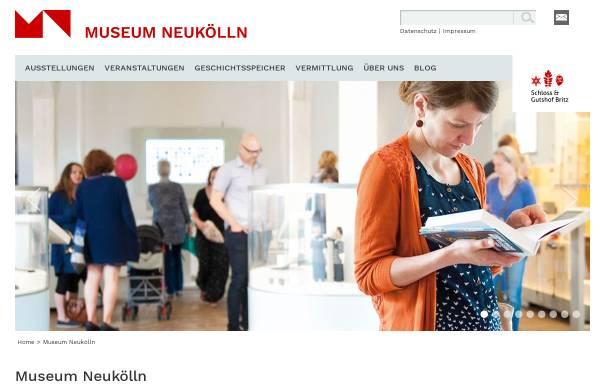 Vorschau von www.museum-neukoelln.de, Heimatmuseum Neukölln