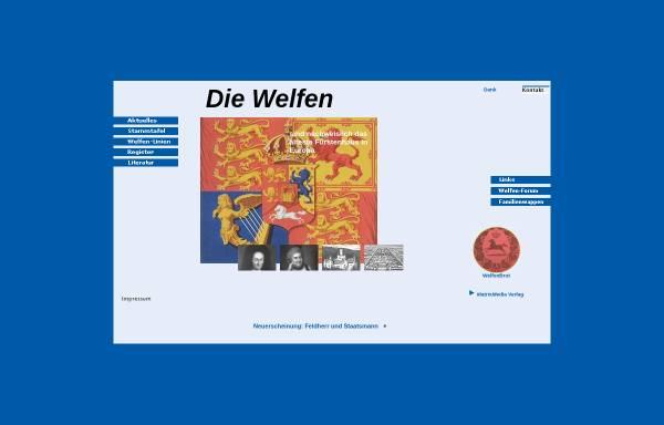 Vorschau von www.welfen.de, Die Welfen