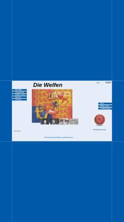 Vorschau der mobilen Webseite www.welfen.de, Die Welfen