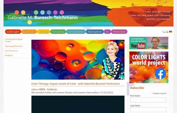 Vorschau von www.color-buresch.at, Gabrielle Buresch-Teichmann