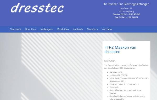 Vorschau von www.dresstec.de, Dresstec, Inh. Willi Dreßen