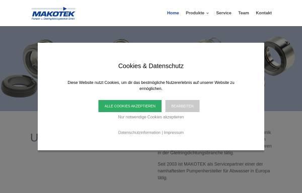 Vorschau von www.makotek.at, Makotek Mayerhofer OEG