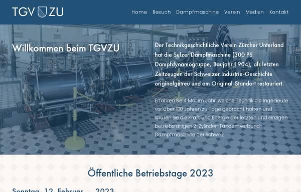 Vorschau von www.tgvzu.ch, Zürich, Gasimuseum