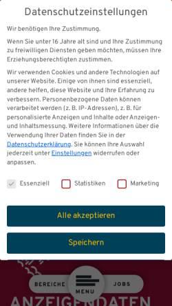 Vorschau der mobilen Webseite www.index.de, Index Internet und Mediaforschung GmbH