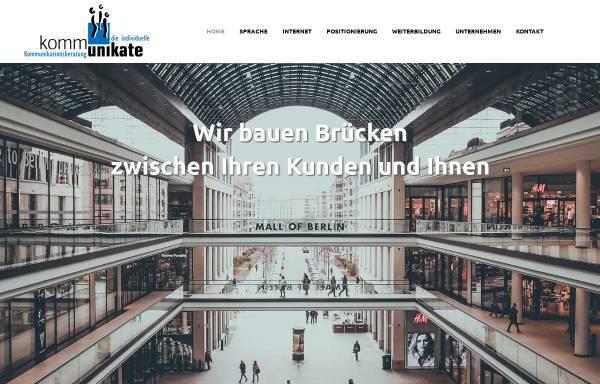 Vorschau von www.kommunikate.de, Kommunikate GmbH