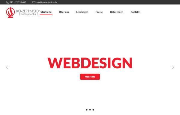 Vorschau von www.konzeptvision.de, Konzept:Vision B & P GmbH