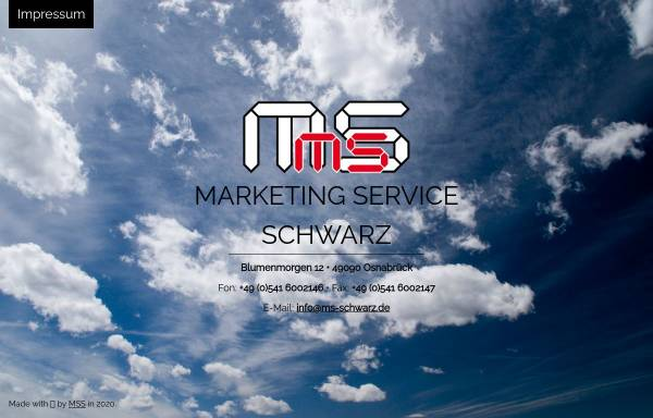 Vorschau von www.ms-schwarz.de, Marketing Service - Monika Schwarz
