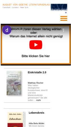 Vorschau der mobilen Webseite www.haensel-hohenhausen.de, Dr. Hänsel-Hohenhausen AG