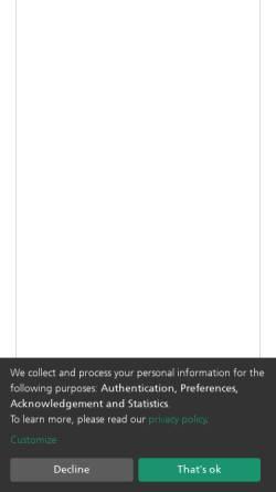 Vorschau der mobilen Webseite publica.fraunhofer.de, Fraunhofer-Publica