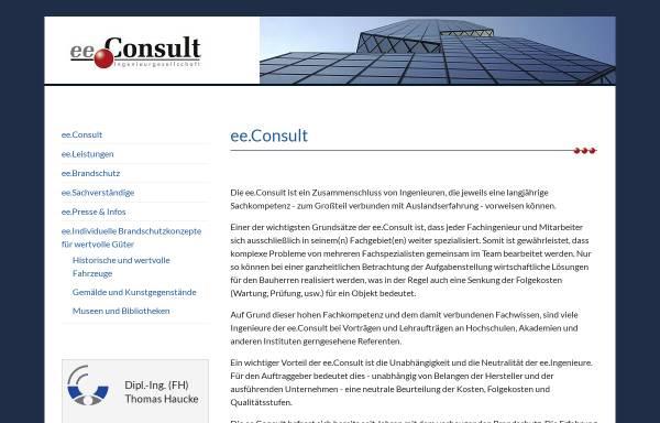 Vorschau von www.ee-consult.com, Haucke, Thomas