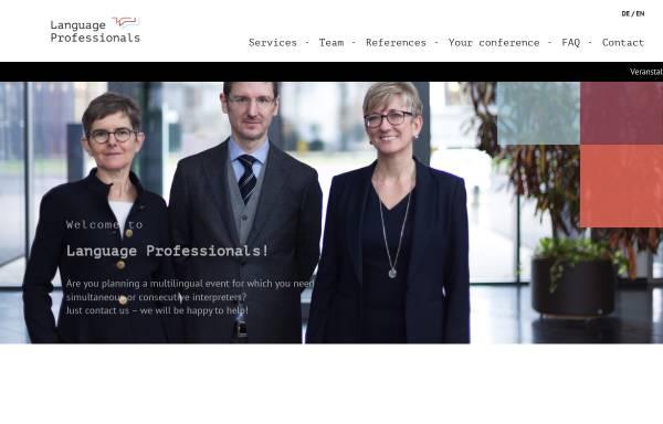 Vorschau von www.language-professionals.de, Language Professionals