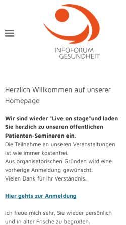 Vorschau der mobilen Webseite www.patienten-scout.de, Pfadfinder im Gesundheitsdschungel