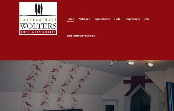 Vorschau von www.landgasthaus-wolters.de, Landgasthaus Wolters