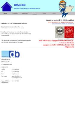 Vorschau der mobilen Webseite www.databaur.ch, EDV für den Bau