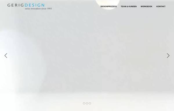 Vorschau von www.gerigdesign.ch, Gerig Design