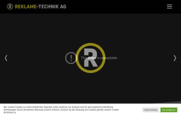 Vorschau von www.reklametechnik.ch, Reklame Technik AG