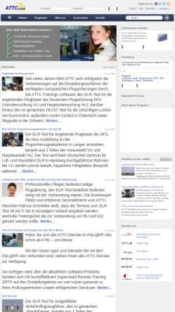 Vorschau der mobilen Webseite www.attc.de, ATTC Airline Test Training Center