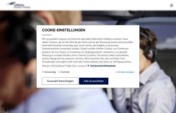 Vorschau von www.lft-berlin.de, LFT Lufthansa Flight Training Berlin GmbH