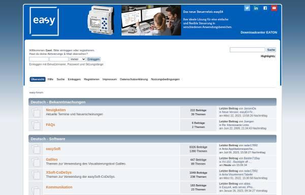 Vorschau von www.easy-forum.net, Easy-Forum