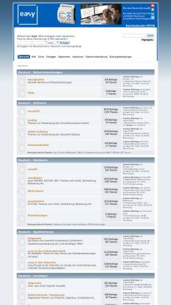 Vorschau der mobilen Webseite www.easy-forum.net, Easy-Forum