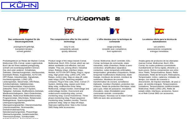 Vorschau von www.multicomat.net, Multicomat
