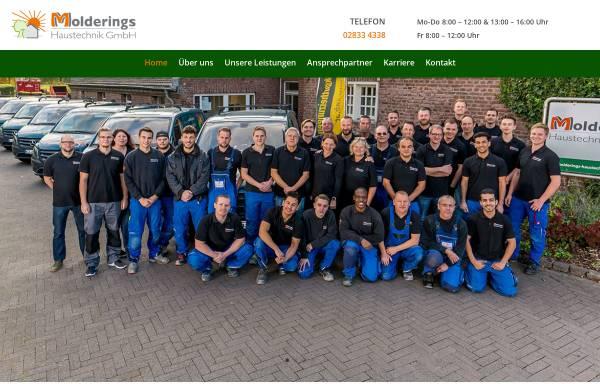 Vorschau von www.molderings-haustechnik.de, Molderings Haustechnik GmbH