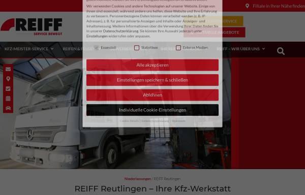 Vorschau von www.reiff-gruppe.de, Reiff GmbH