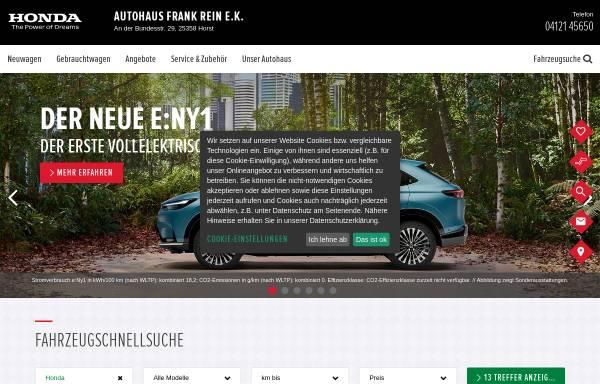 Vorschau von www.honda-rein.de, Autohaus Honda Rein