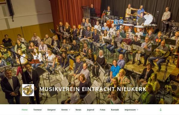 Vorschau von www.musikverein-nieukerk.de, Musikverein Eintracht Nieukerk 1908 e.V.