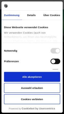 Vorschau der mobilen Webseite www.roelfspartner.de, Rölfs Partner