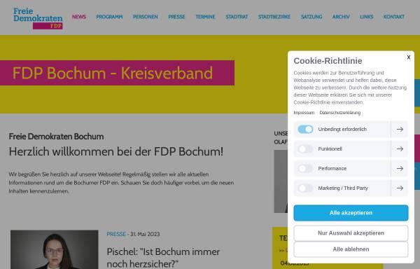 Vorschau von www.fdp-bochum.de, FDP Kreisverband Bochum