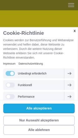 Vorschau der mobilen Webseite www.fdp-bochum.de, FDP Kreisverband Bochum