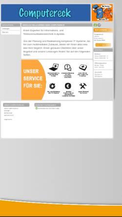Vorschau der mobilen Webseite www.computereck-apolda.de, Computereck Carsten Müller
