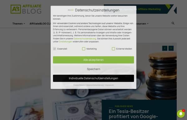 Vorschau von www.affiliateboy.de, Affiliateboy Markus Kellermann